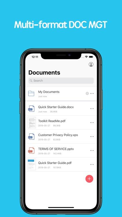 PDF Reader - Edit And Storage screenshot-3