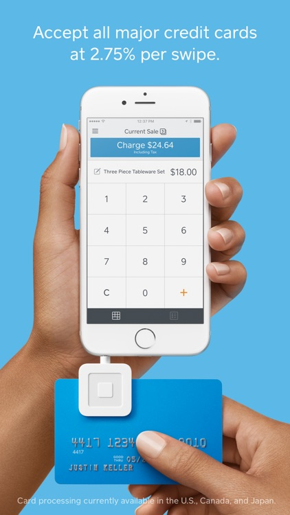 Square Point of Sale (POS) screenshot-0