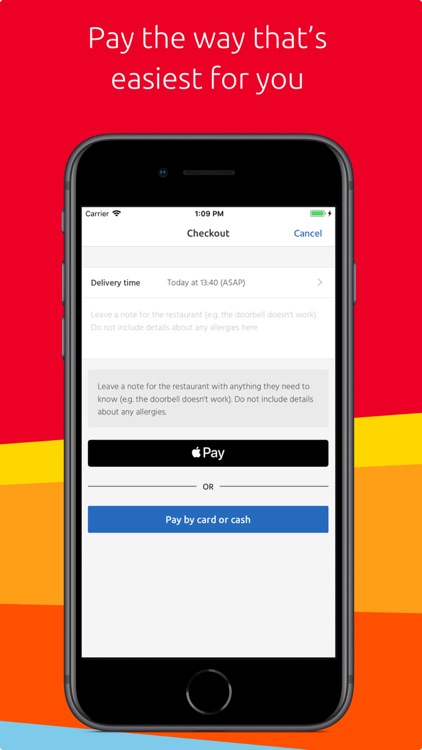Just Eat: food delivery screenshot-4