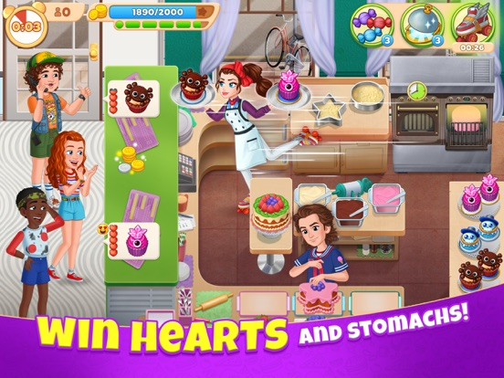 iPad Image of Cooking Diary® Restaurant Game
