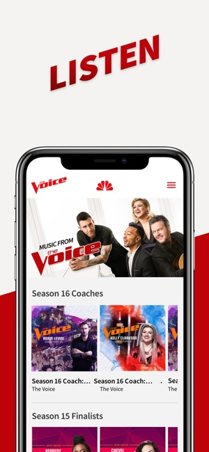 The Voice Official App on NBC on the App Store