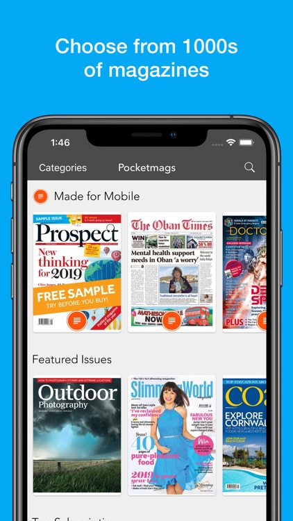 Pocketmags Digital Newsstand