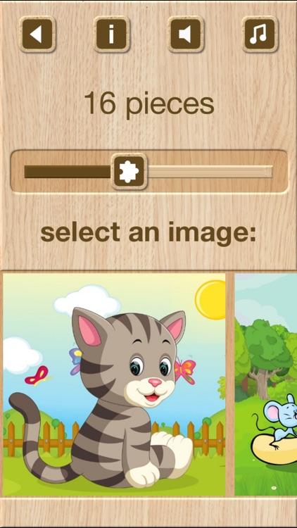Animal Jigsaw Puzzle Games screenshot-3
