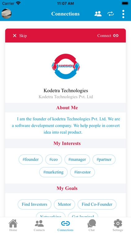 Handshek Digital Business Card screenshot-2