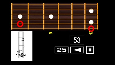Screenshot for Guitar Sheet Reading PRO in Czech Republic App Store