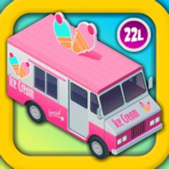 Ice Cream & Fire Truck Games 4