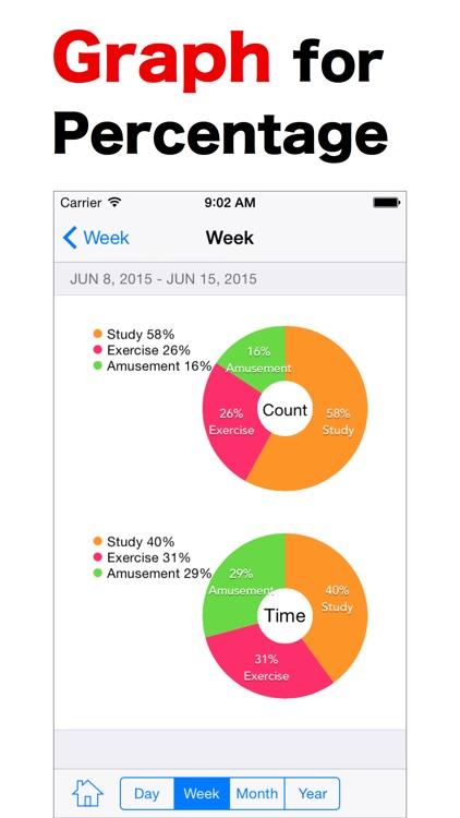 LogCalendar - Time Tracker screenshot-3