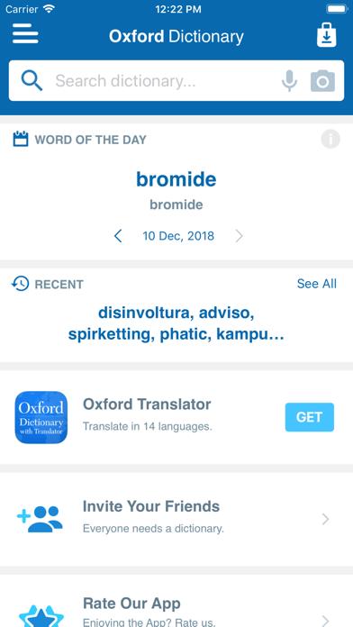 Shorter Oxford English Screenshot