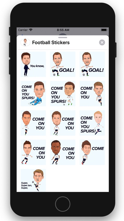 Football Stickers screenshot-2