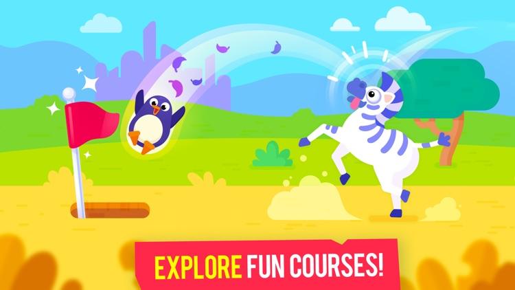 Golfmasters - Fun Golf Game screenshot-3