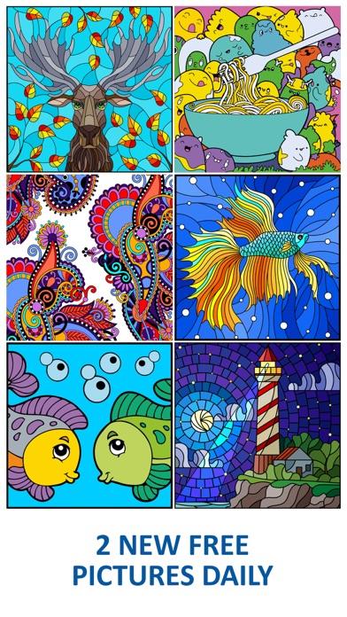 Line Art: Coloring book screenshot 2