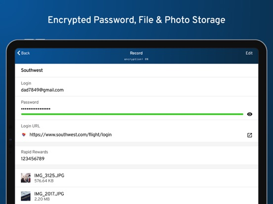 Keeper® Password Manager & Digital Vault - Secure and encrypted data storage for your passwords, files, photos and notes. screenshot