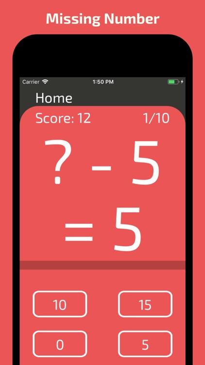 Mars Math Flash Cards screenshot-4