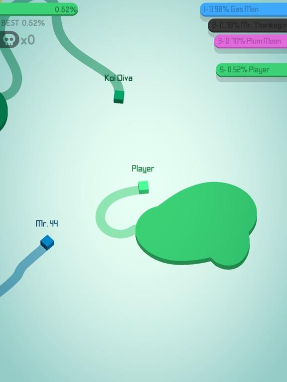 Paper.io 2 iPad captures décran