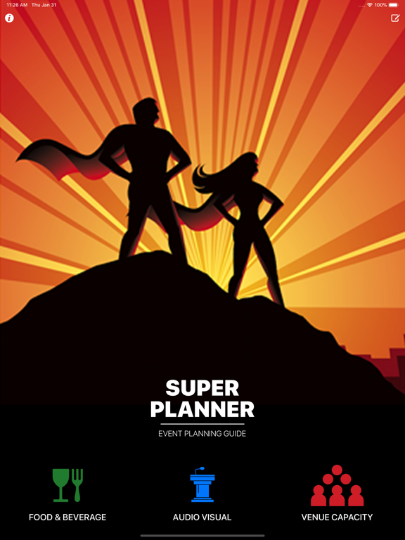 Super Planner - Event Planning App screenshot