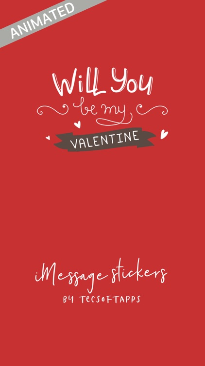 Be My Valentine Sticker Sets