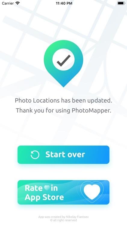 PhotoMapper: GPS EXIF Editor screenshot-4