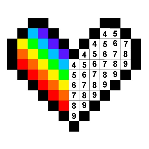 Colors by Number® – No.Draw® icon
