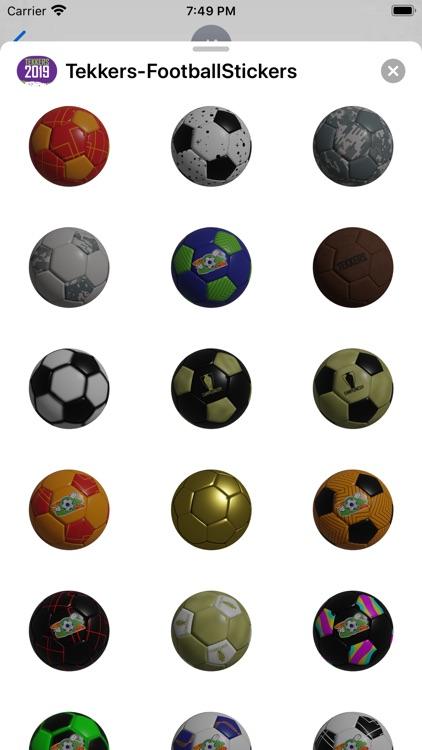 Soccer - Stickers screenshot-7