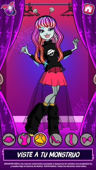 Screenshot for Salón de belleza Monster High™ in Mexico App Store