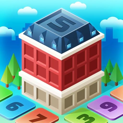マイリトルタウン : 数字のパズルゲーム