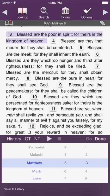 Touch Bible: KJV Only screenshot-4
