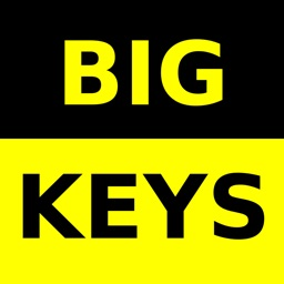 Big Keys Low Vision Keyboard
