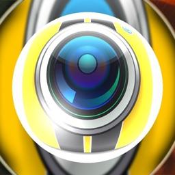 Fisheye Wide-Lens Camera