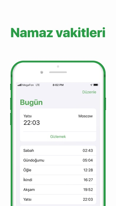 messages.download Namaz vakitleri & Kıble bulucu software