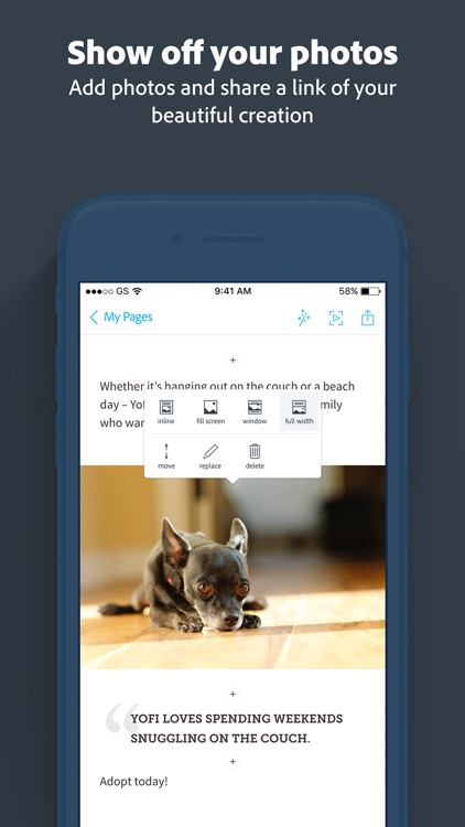 Adobe Spark Page screenshot-3