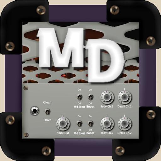 Modern Deluxe guitar amp