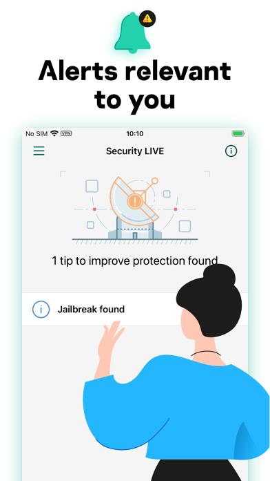 Kaspersky Security Cloud & VPN Screenshot