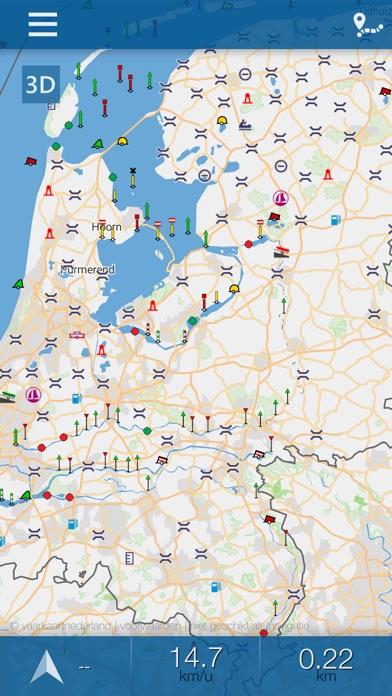 Vaarkaart Nederland - App voor iPhone, iPad en iPod touch ...