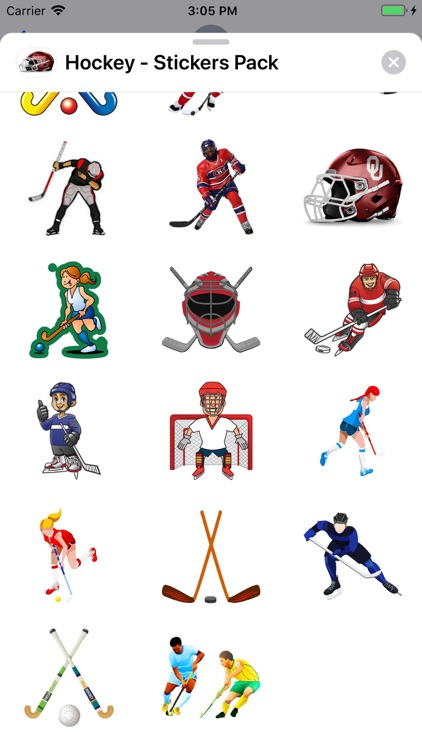 Hockey - Stickers Pack