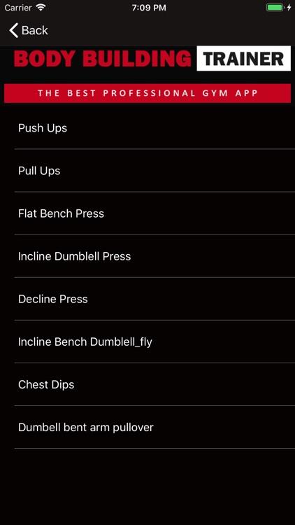 Body Building Trainer. screenshot-3