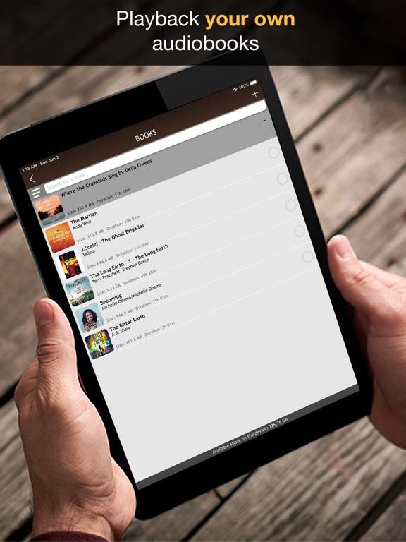 MP3 Audiobook Player Pro Screenshots