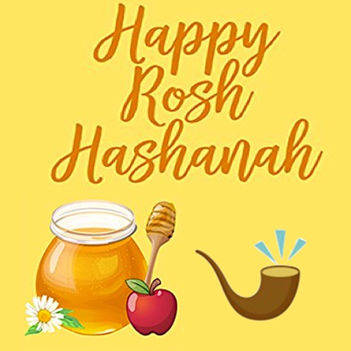 Happy Rosh Hashanah Icon
