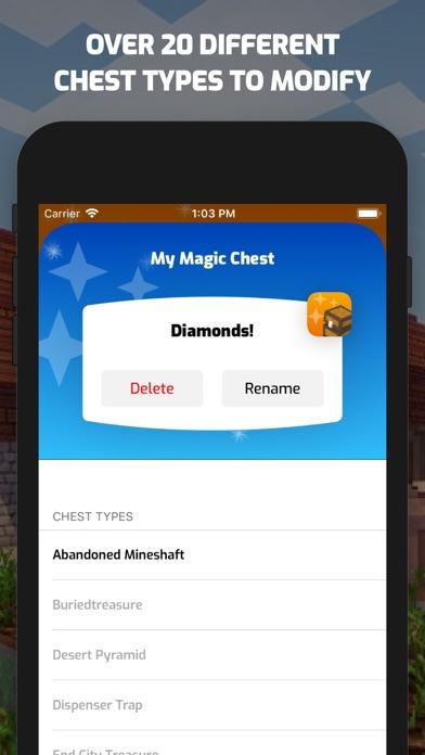Magic Chests for Minecraft PE screenshot 2
