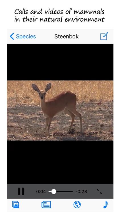 Stuarts' SA Mammals 5th Ed screenshot-3