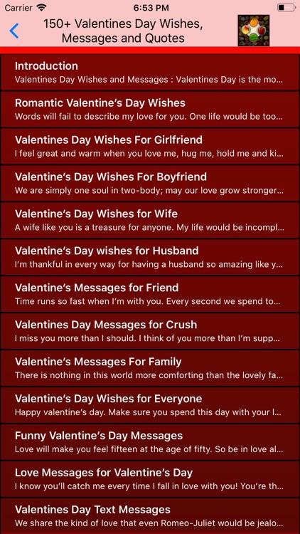 Valentine Day Wallpaper Quote screenshot-5