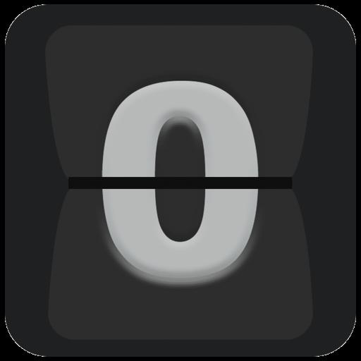 桌面翻页时钟 - 倒计时,置顶计时器,网速显示 for IOS