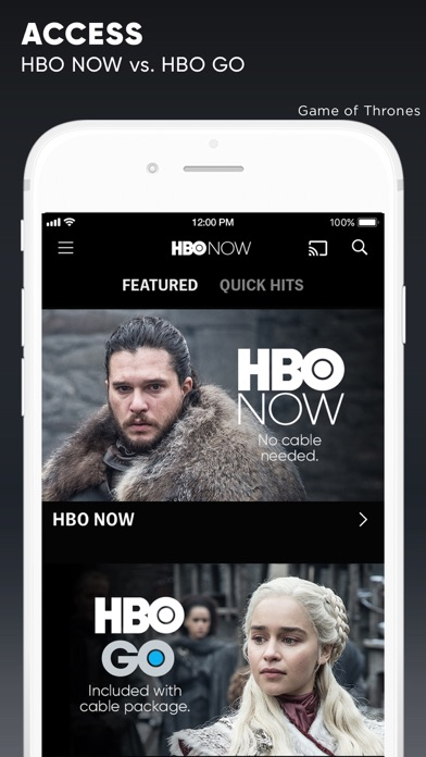 HBO NOW: Watch Game of Thrones app image