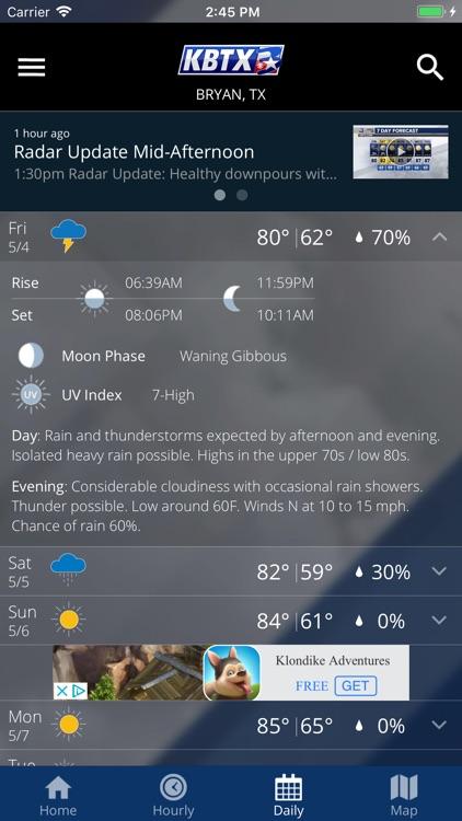 KBTX PinPoint Weather screenshot-3