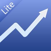 Free Stock Tracker & Trading Portfolio Manager - Portfolio Trader Lite for iPhone & iPad icon