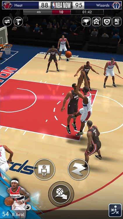 NBA NOW Mobile Basketball Game screenshot-6