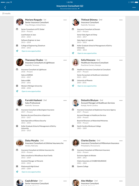 Screenshot #6 pour LinkedIn Recruiter