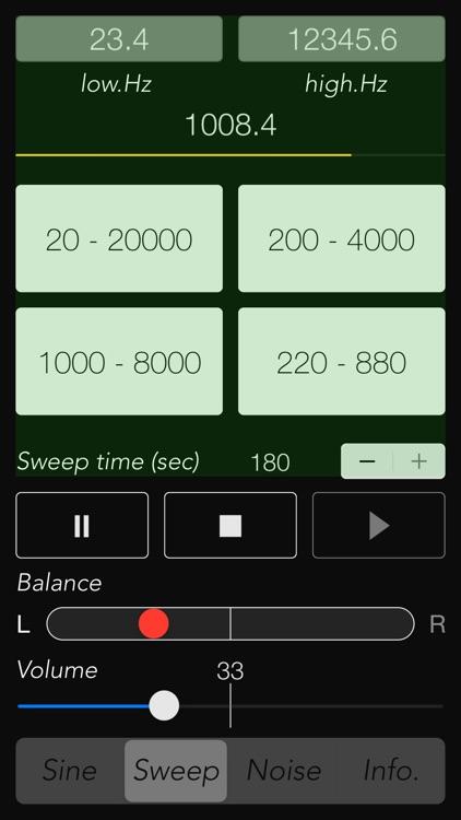 Audio Tone Generator - ATG screenshot-3