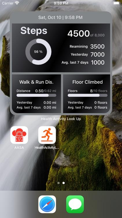 Health Widget - Quick Look Up screenshot-6