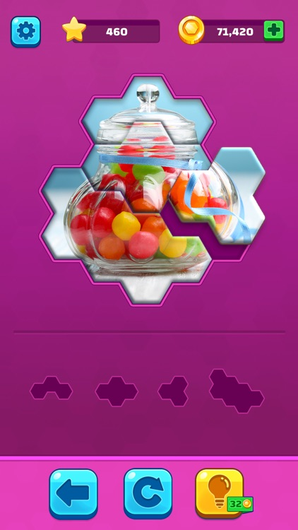 Hexa Jigsaw Puzzle ® screenshot-4
