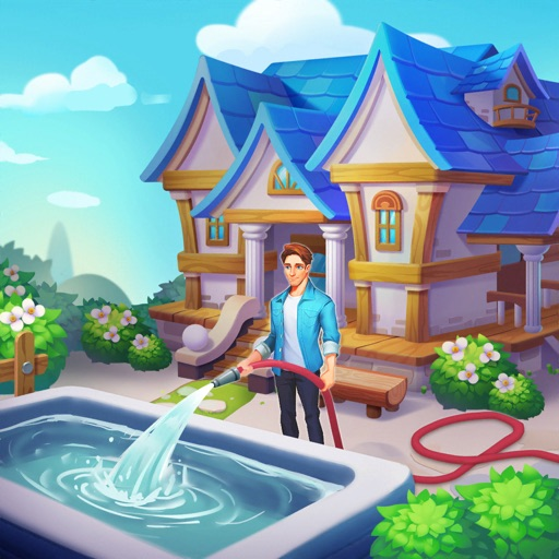 Dream Home Match 3 Puzzles Gam icon